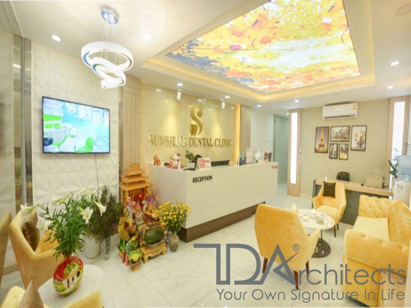 Không gian ấm cúng trong phòng khám nha khoa