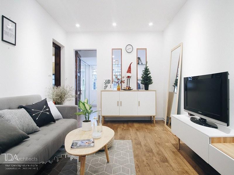 Không gian nội thất nhà 60m2 cho vợ chồng trẻ