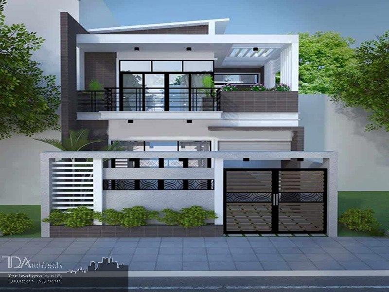 Mẫu nhà 2 tầng