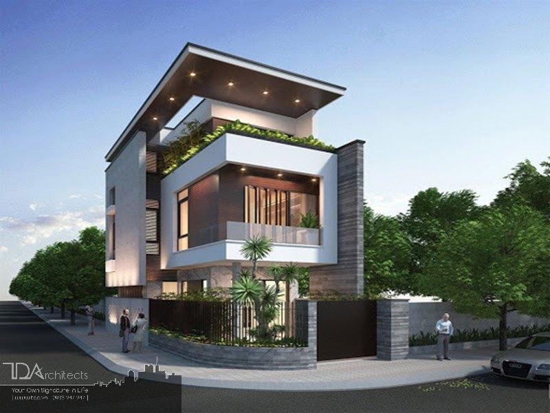 Mẫu thiết kế nhà đẹp không gian mở 3 tầng