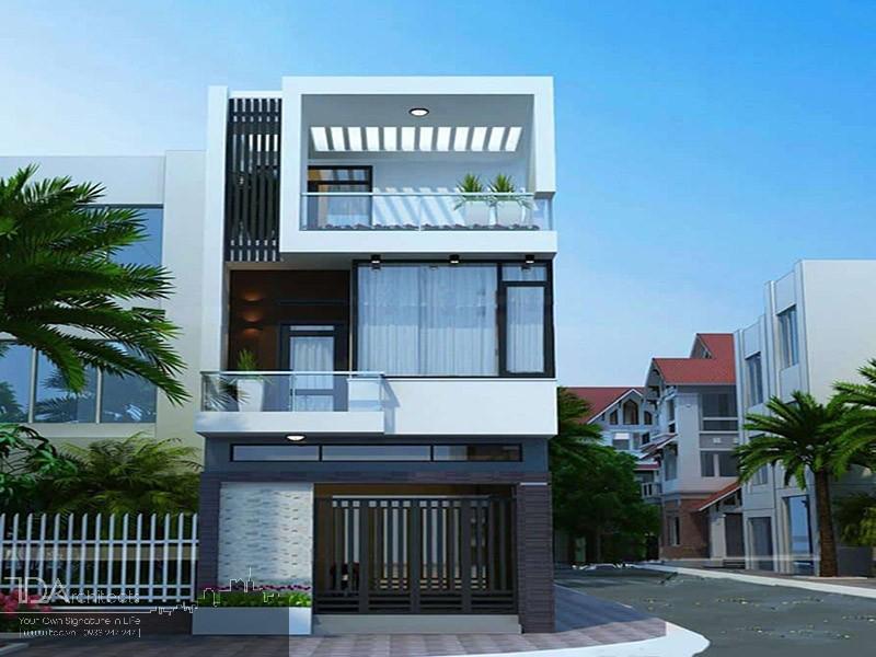 Nhà mái bằng 3 tầng hiện đại