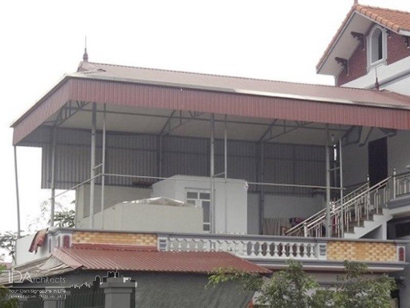 Nhà mái tôn tiết kiệm chi phí