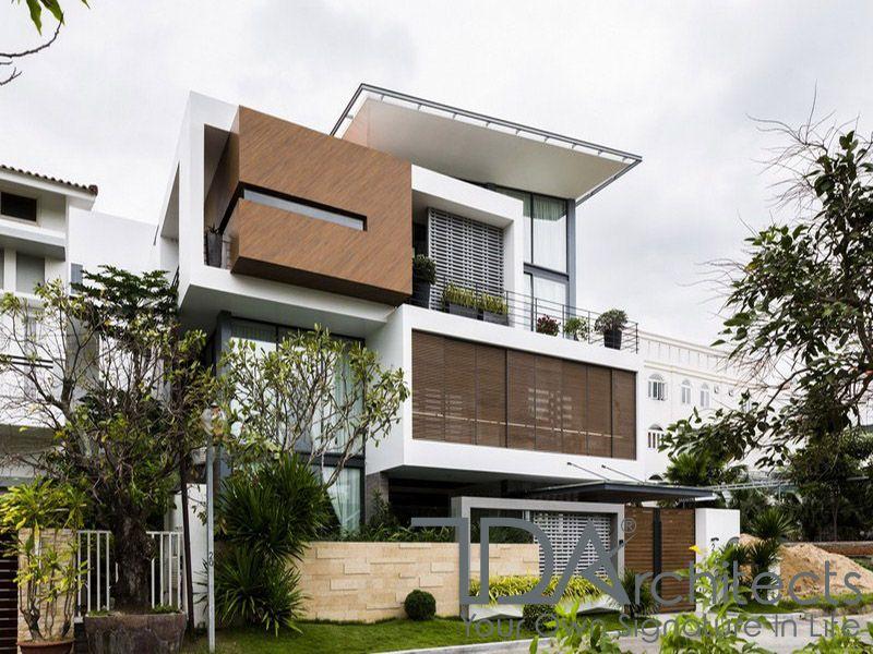 Những mẫu thiết kế biệt thự hiện đại 3 tầng đẹp