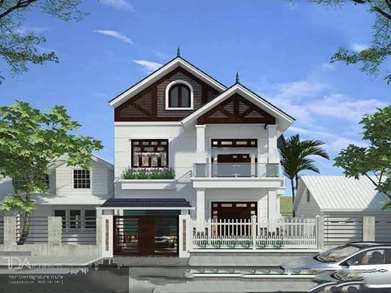 Phong cách thiết kế mái Thái
