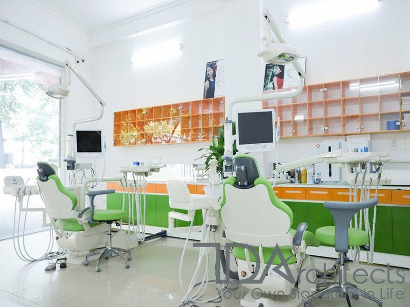 Thiết kế không gian phòng khám tràn ngập ánh sáng