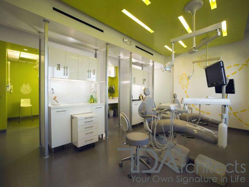 Thiết kế phòng khám nha khoa xu hướng hiện đại