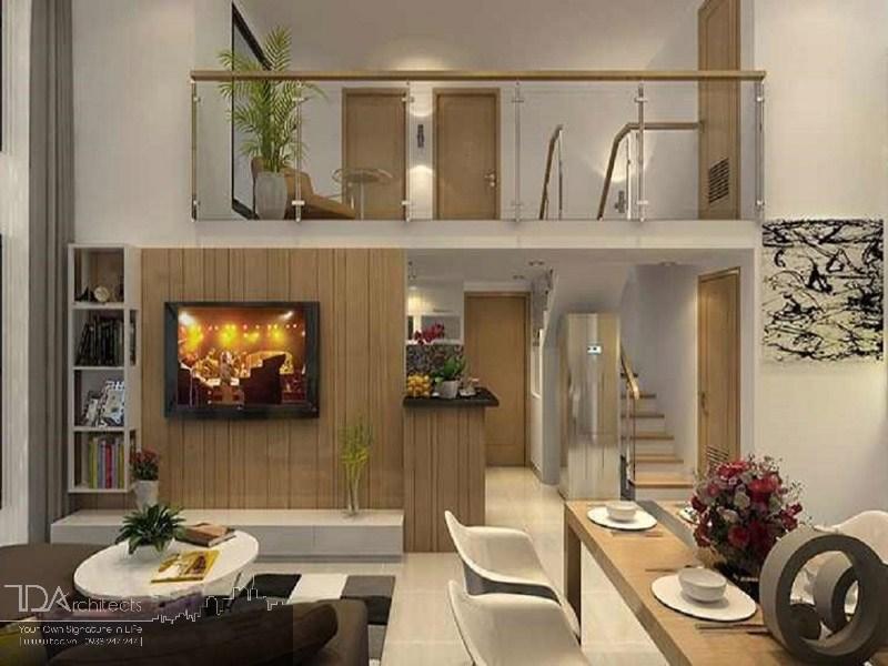 Thiết kế tối ưu cho không gian nhà nhỏ với gác lửng