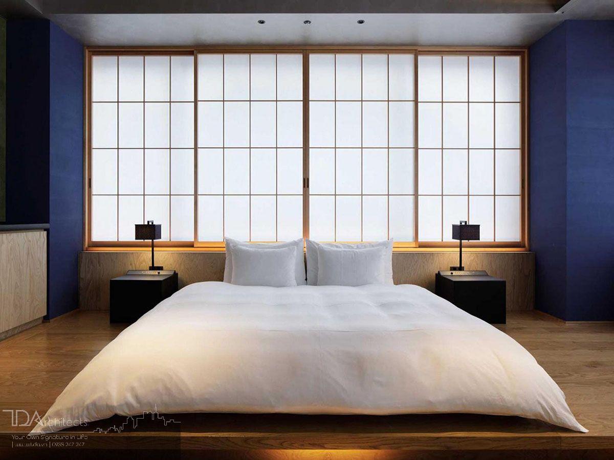 Không gian phòng ngủ kiểu Nhật