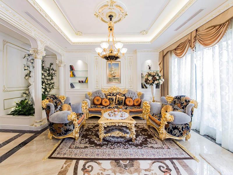 Mẫu phòng khách biệt thự đẹp nhất