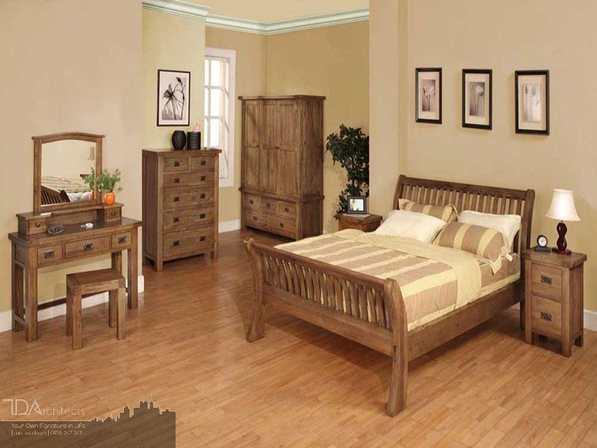 Nội thất sử dụng đa số là gỗ