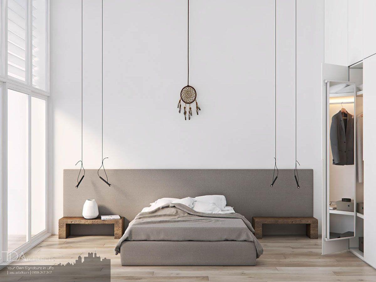 Thiết kế phòng ngủ theo phong cách tối giản