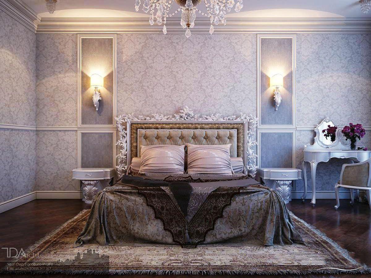 Xu hướng thiết kế phòng ngủ sang trọng với gam màu tối