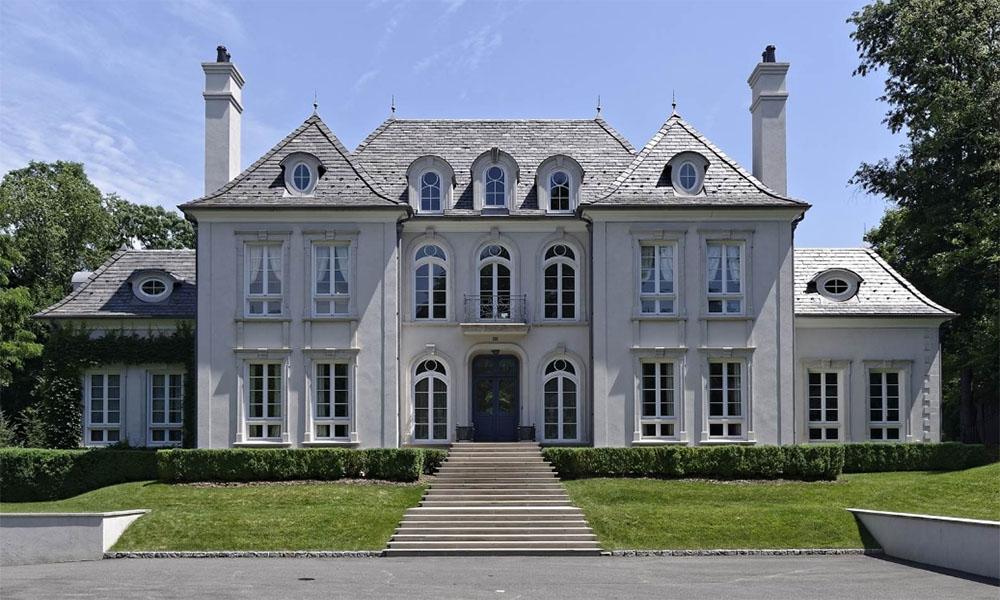 Mẫu thiết kế biệt thự 2 tầng kiểu Pháp