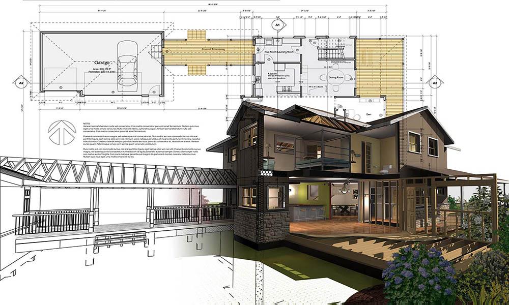 Thành phần có trong hồ sơ thiết kế nhà