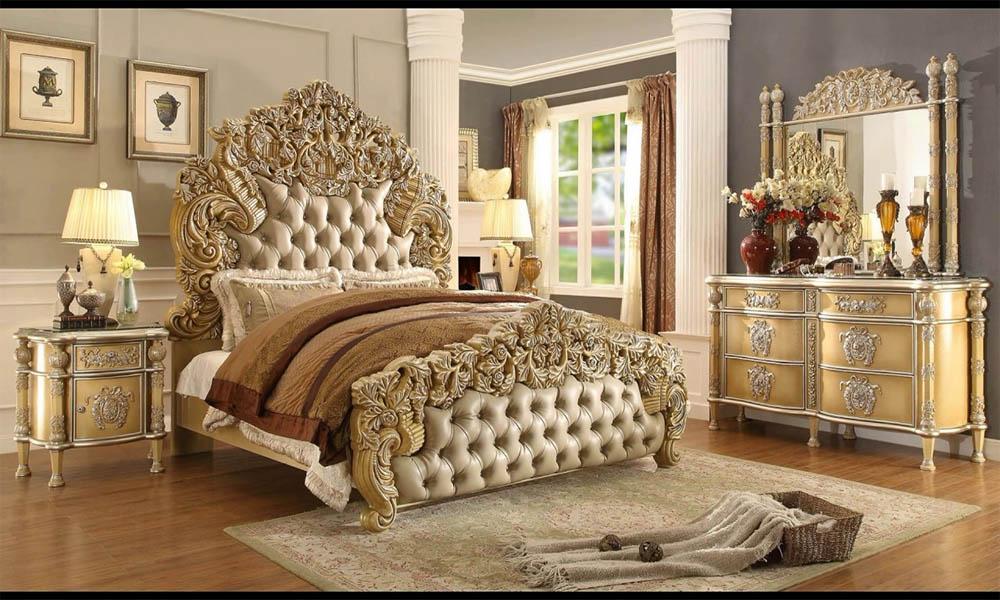 Nội thất phòng ngủ phong cách hoàng gia sang trọng