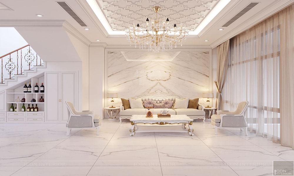 Thiết kế nội thất biệt thự TDArchitects