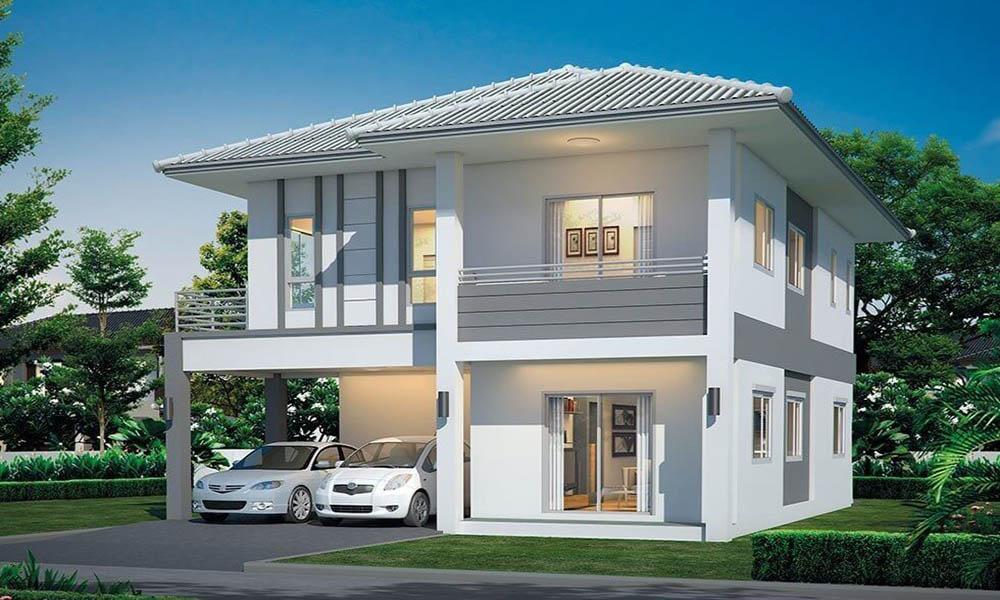 Tiêu chuẩn thiết kế biệt thự 2 tầng