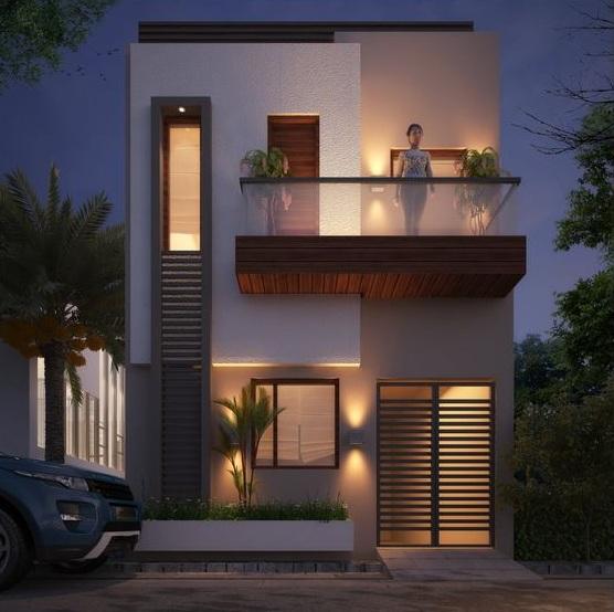 Mẫu thiết kế nhà 2 tầng 4x12m