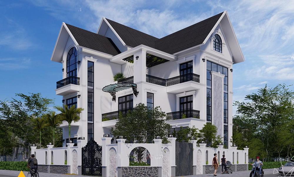 Ưu điểm thiết kế biệt thự 3 tầng mái thái