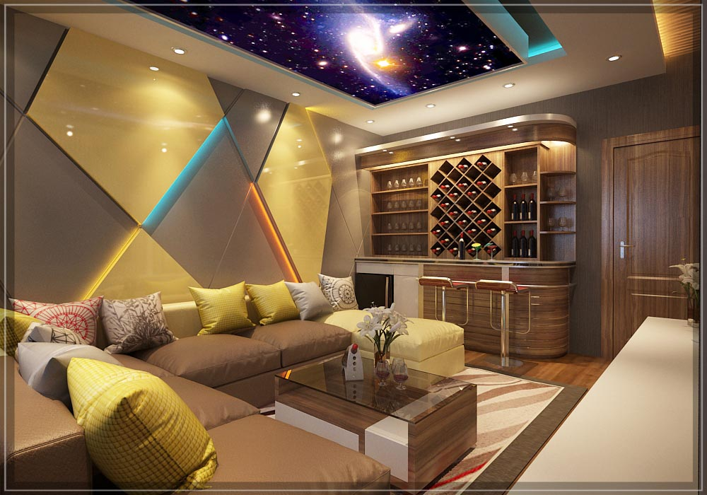 Hệ thống ánh sáng phòng karaoke