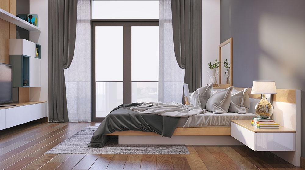 Hệ thống cửa sổ trong phòng ngủ