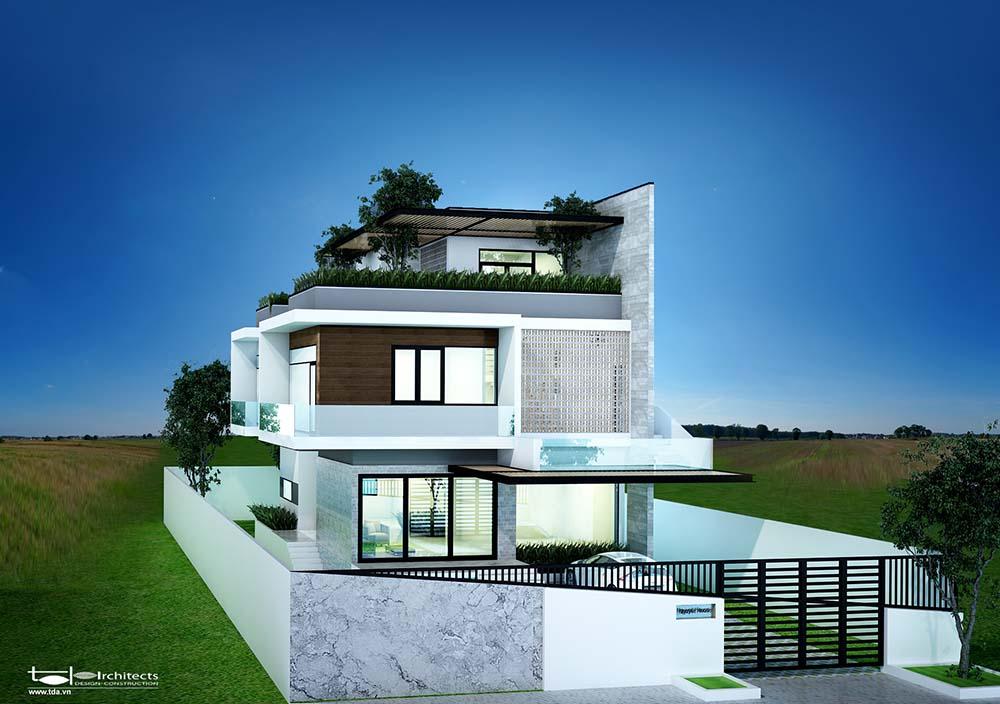 Ưu điểm thiết kế biệt thự hiện đại