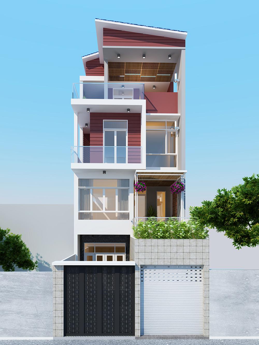 Thông tin về dự án thiết kế nhà phố 6x18m