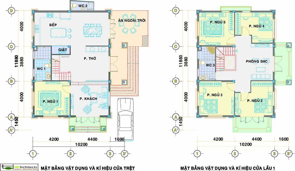 Thiết kế và bố trí nội thất