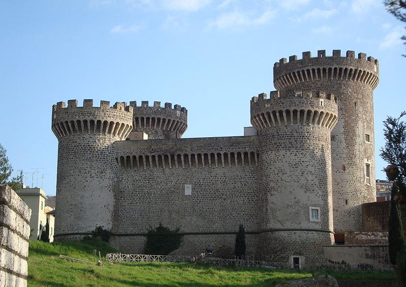 Cận cảnh lâu đài