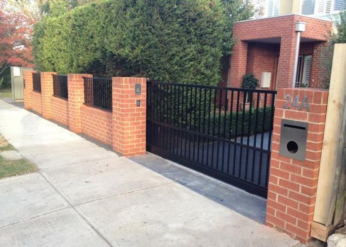 Màu sắc tường rào