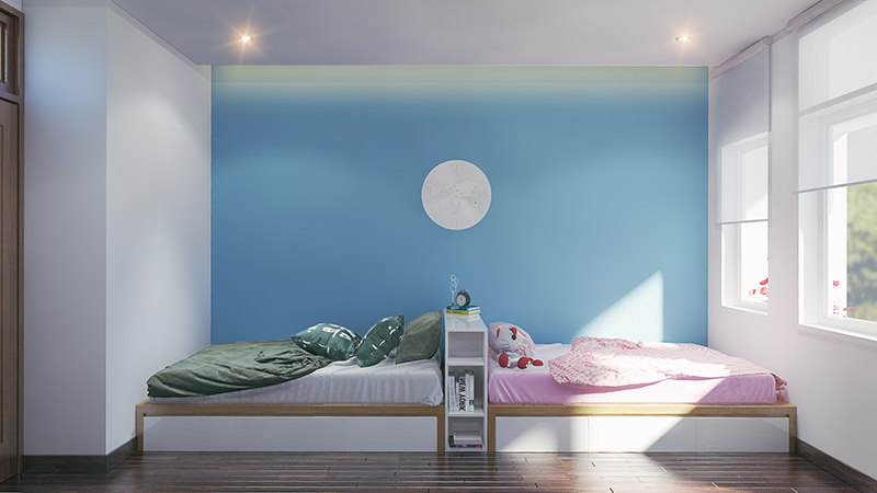 Giường ngủ con