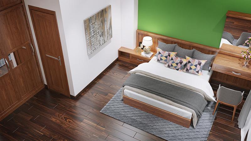 Không gian phòng ngủ nhà phố