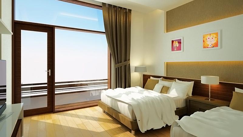 View từ phòng ngủ đôi