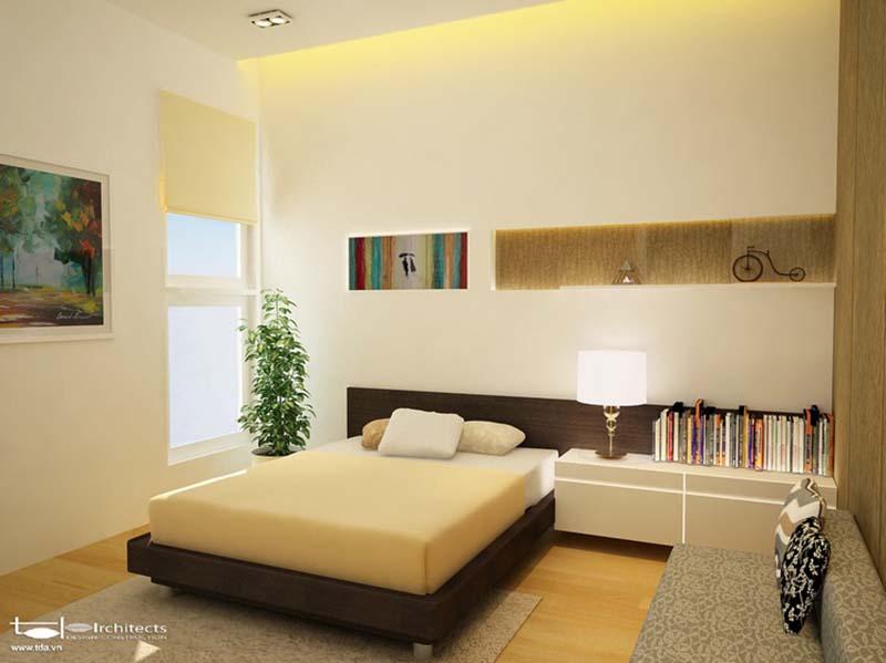 Phòng ngủ của bố