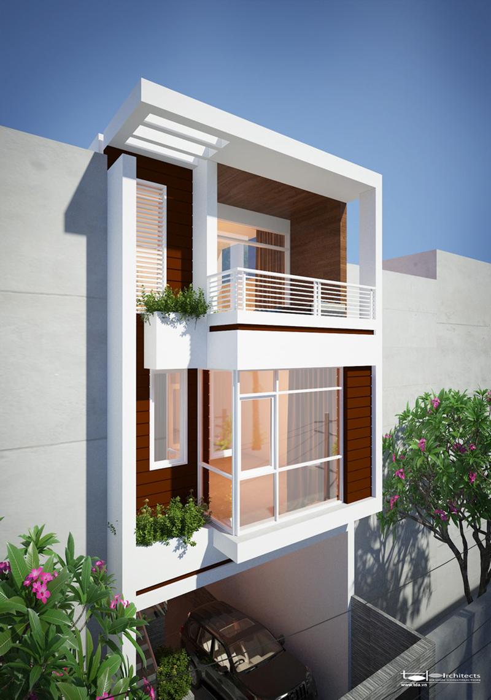 Phối cảnh 3D nhà mặt phố