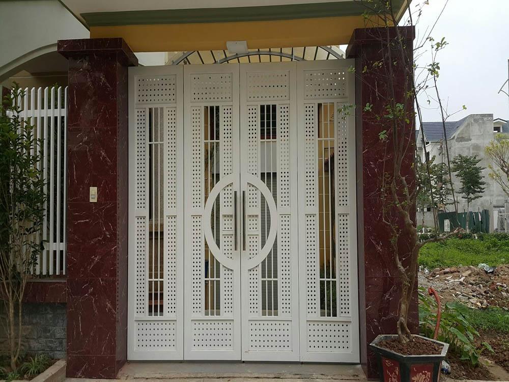 Kích thước cổng 4 cánh