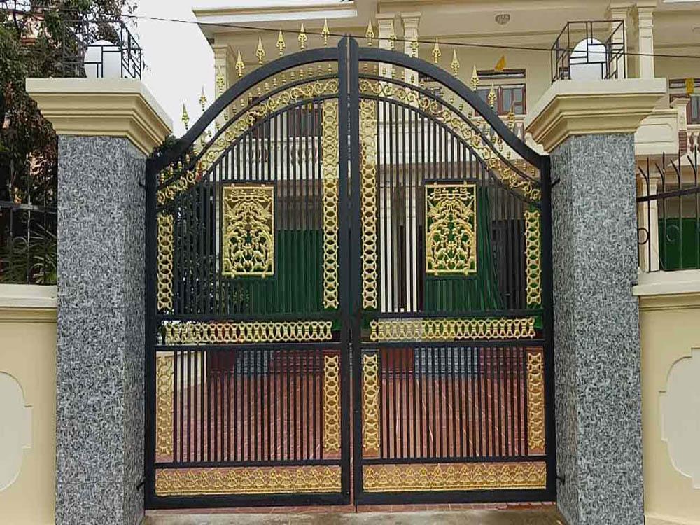 Lưu ý khi chọn kích thước cổng nhà