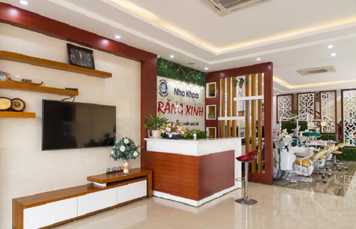 Mẫu phòng khám nha khoa Răng Xinh