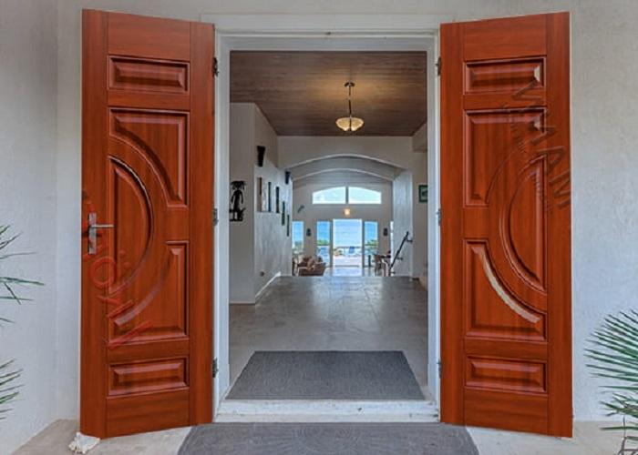 Kích thước cửa đi với cửa đi 2 cánh mở quay