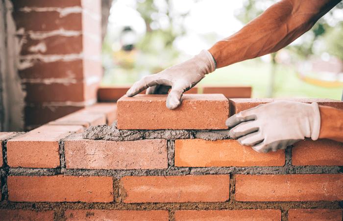 Gạch dùng để xây dựng phần thô của một ngôi nhà