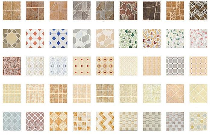 Gạch men là loại gạch có nhiều hoa văn sặc sở