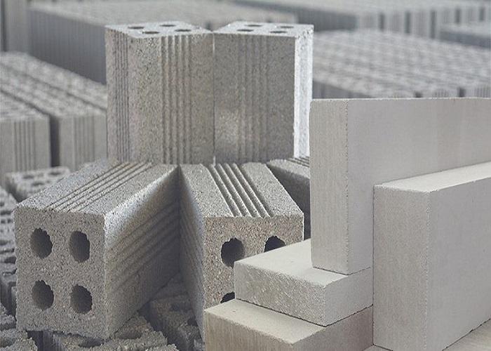 Gạch bê tông không nung làm từ cốt liệu xi măng và cát